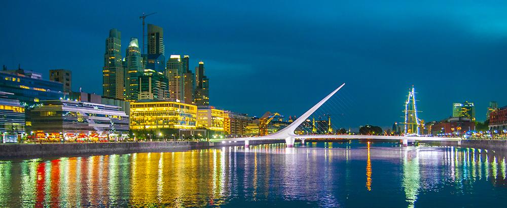 Puerto madero en Buenos Aires. Argentina