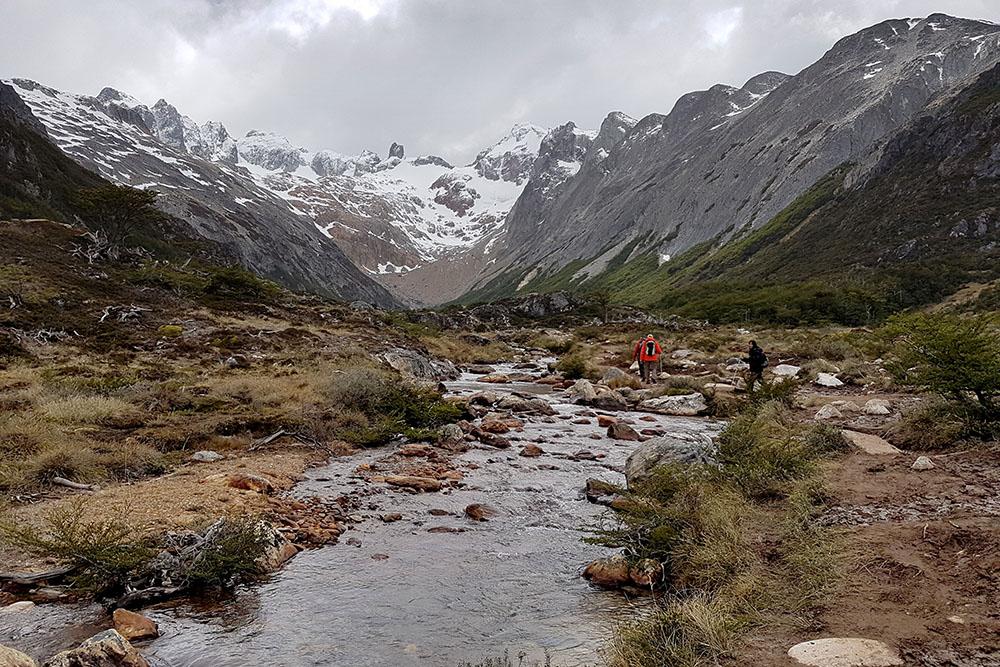 Trekking a la laguna Esmeralda, Ushuaia