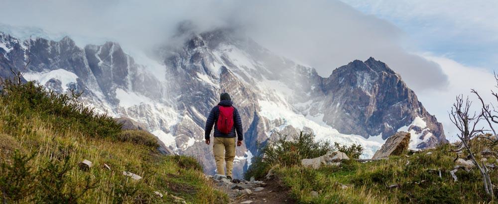 Trekking por El Chaltén, Santa Cruz, Argentina