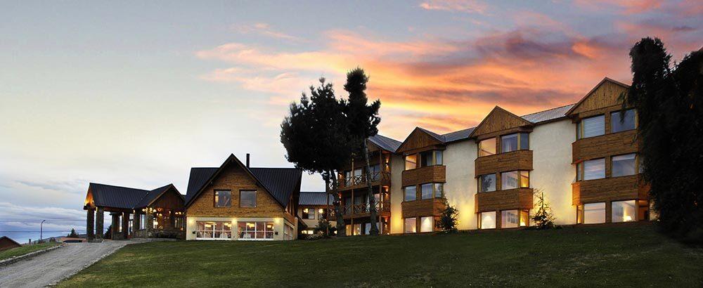 El hotel Mirador del Lago está ubicado en la ciudad de El Calafate, Argentina