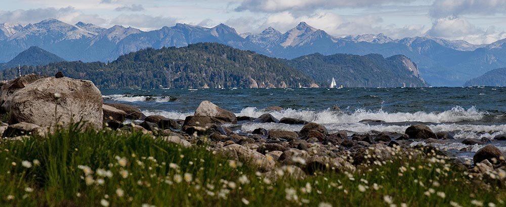 Lago Nahuel Huapi en San Carlos de Bariloche