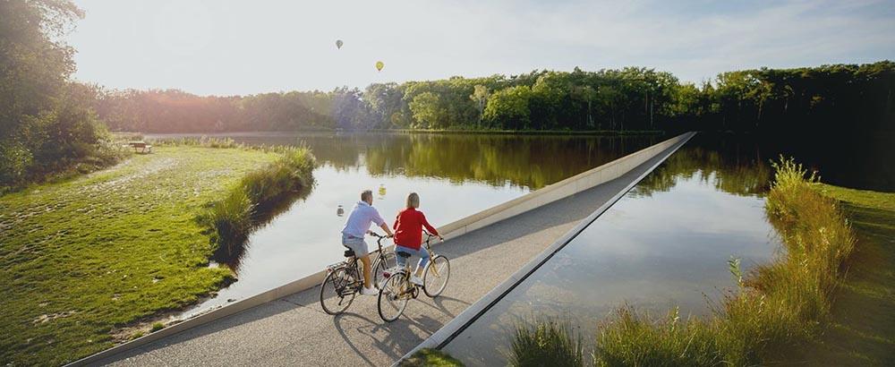 Carril Cycling through Water en Bélgica