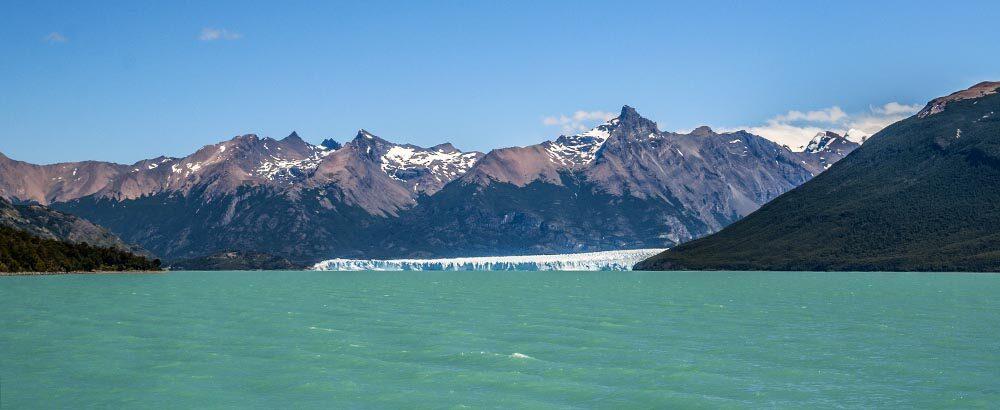 Glaciar en el Lago Argentino